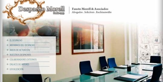 Proyecto: Despacho Morell