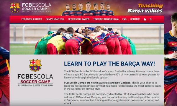 Proyecto: FCB Escola Australia & Nueva Zelanda