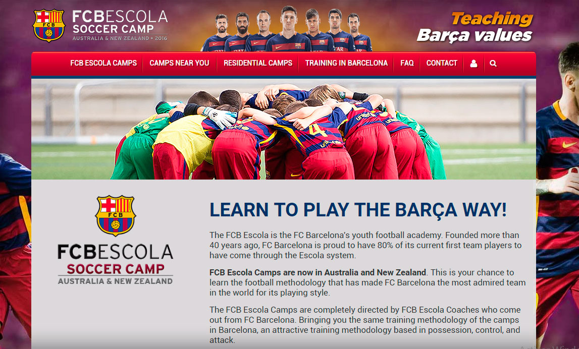 FC Barcelona Australia & Nueva Zelanda