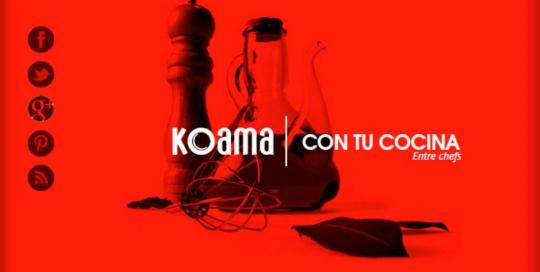 Proyecto: Koama - Con tu cocina