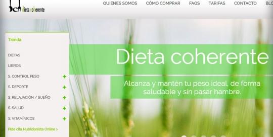 Proyecto: Tienda Dieta coherente